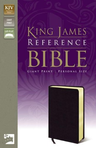 9780310931966: KJV, Reference Bible, Giant Print, Personal Size, Bonded Leather, Black, Red Letter Edition