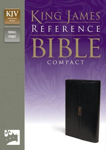 9780310932024: KJV, Reference Bible, Compact, Bonded Leather, Black, Red Letter Edition