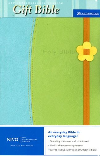 9780310933168: Gift Bible-NIV-Easter with Flower