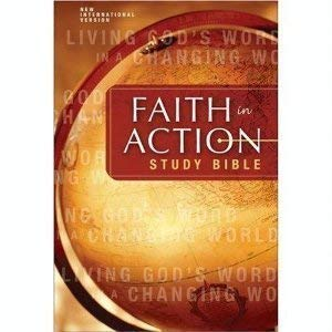 9780310933342: Faith in Action Study Bible World Vision