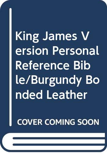 9780310933816: King James Version Personal Reference Bible/Burgundy Bonded Leather