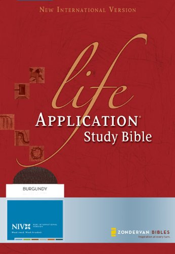 NIV Life Application Study Bible (New International: Zondervan
