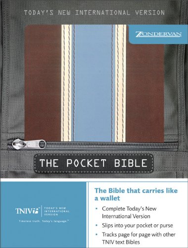 9780310934066: TNIV Pocket Bible (Today's New International Version)