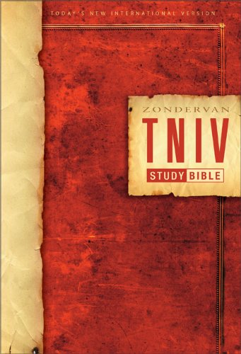9780310934813: Holy Bible: Zondervan Today's New International Version, Study Bible