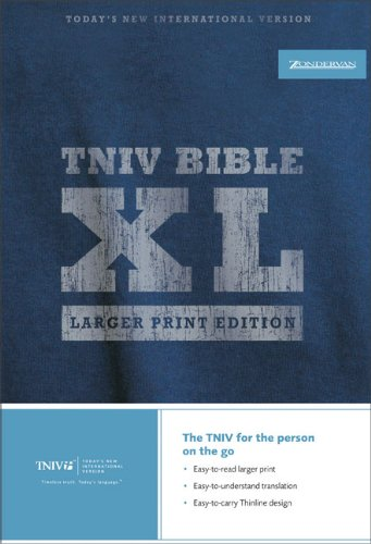 9780310934936: TNIV Thinline Bible XL: Larger Print Edition