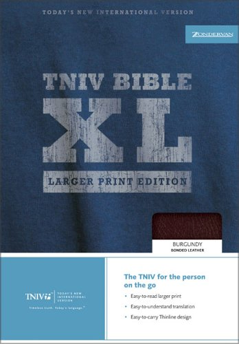 9780310934974: TNIV Thinline Bible XL: Larger Print Edition