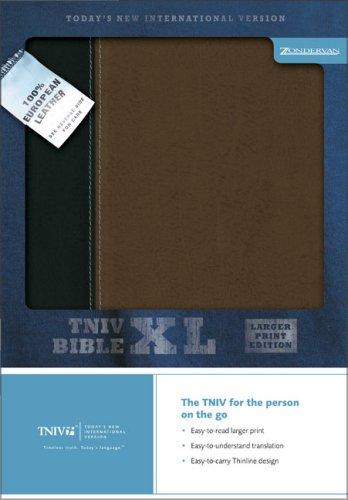 9780310934981: TNIV Thinline Bible XL: Larger Print Edition