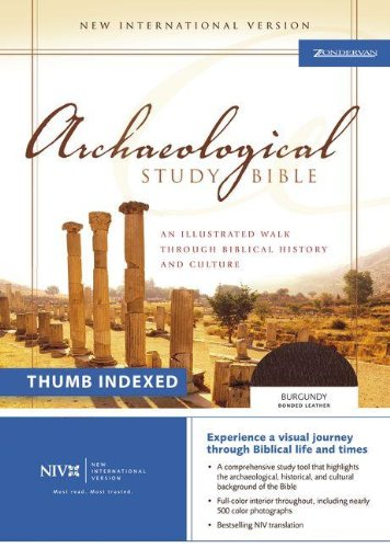9780310935353: NIV Archaeological Study Bible Indexed: An Illustrated Walk Through Biblical History and Culture