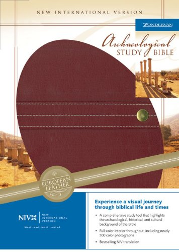 9780310935377: NIV Archaeological Study Bible: An Illustrated Walk Through Biblical History and Culture