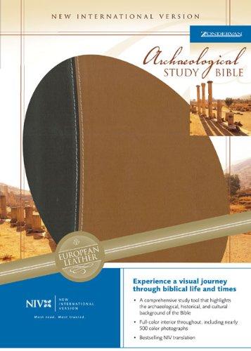 NIV Archaeological Study Bible: An Illustrated Walk: Zondervan