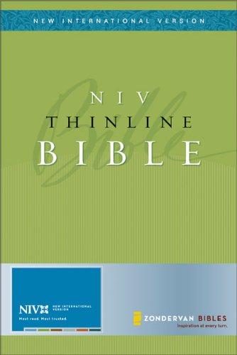 9780310935667: Thinline Bible-NIV (New International Version)