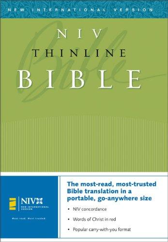 9780310935704: Thinline Bible-NIV (New International Version)
