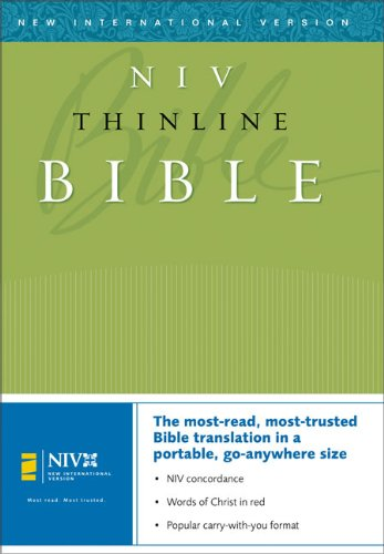 NIV Thinline Bible: Zondervan Staff