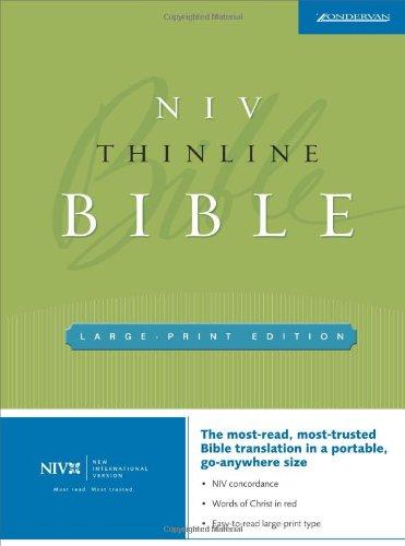 9780310935773: NIV Thinline Bible, Large Print (New International Version)