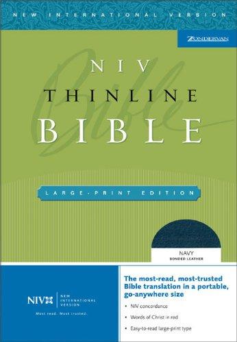 9780310935780: NIV Thinline Bible, Large Print
