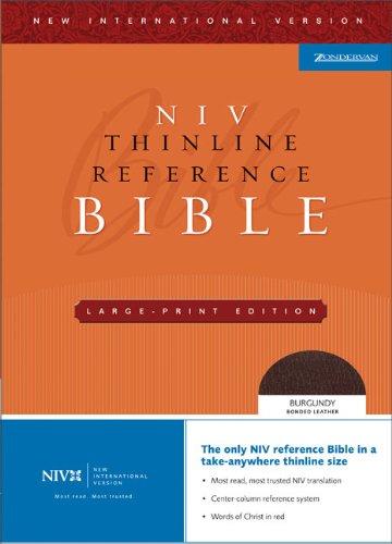 9780310935926: NIV Thinline Reference Bible, Large Print