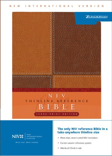 9780310935971: NIV Thinline Bible, Italian Duo-Tone, Brown/Brown