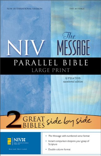 9780310937111: NIV/ The Message: New International Version, Parallel Bible