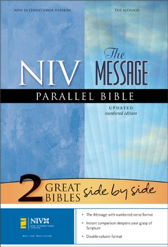 9780310937135: NIV/The Message® Parallel Bible