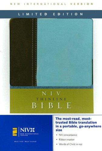 NIV Thinline Bible Limited Edition: Zondervan