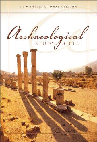 NIV Archaeological Study Bible, Large Print: An