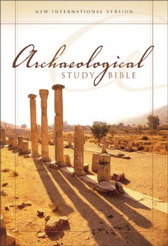 9780310938507: NIV Archaeological Study Bible, Large Print: An Illustrated Walk Through Biblical History and Culture