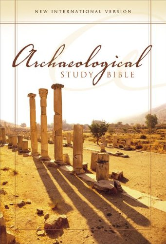 9780310938521: NIV Archaeological Study Bible, Personal Size: An Illustrated Walk Through Biblical History and Culture