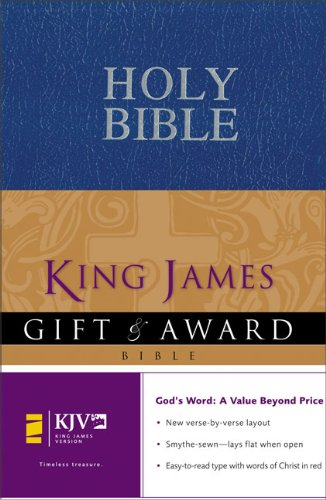 9780310938835: King James Version Gift and Award Bible