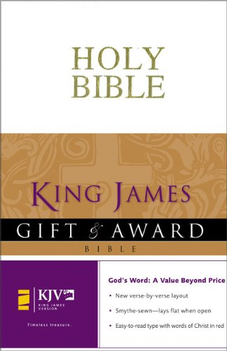 9780310938842: King James Version Gift and Award Bible