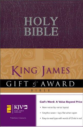9780310938859: Gift & Award Bible-KJV