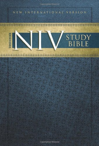 9780310938965: Zondervan NIV Study Bible: New International Version, Study Bible, 2008 Update