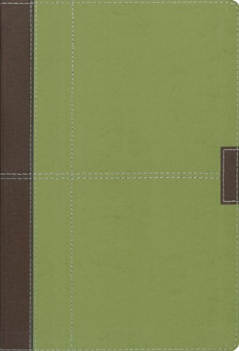 9780310939122: Holy Bible: New International Version, Chocolate/Olive, European Leather, Study Bible