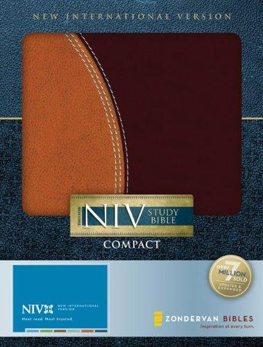 9780310939160: Zondervan NIV Study Bible, Compact