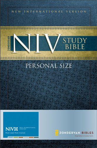 9780310939177: Personal Size Study Bible-NIV