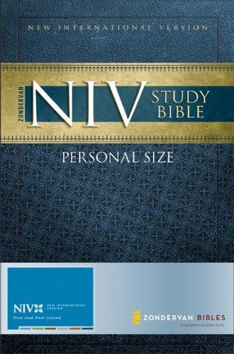 9780310939177: Zondervan NIV Study Bible, Personal Size