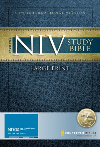 9780310939221: Study Bible-NIV-Large Print: Large Print Edition
