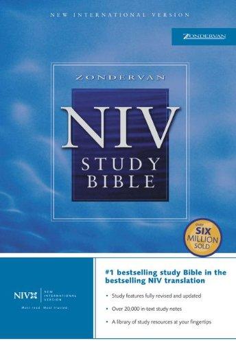 9780310939276: Zondervan NIV Study Bible, Personal Size