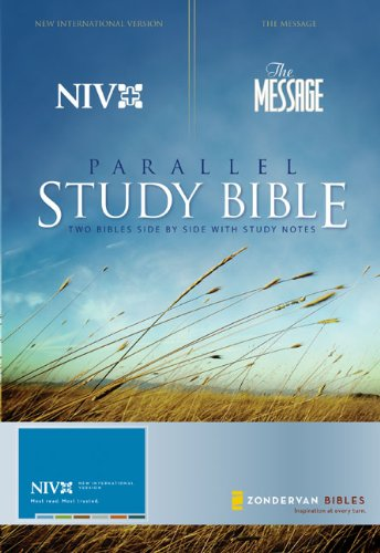 9780310939450: NIV and The Message Parallel Study Bible: Updated Numbered Edition