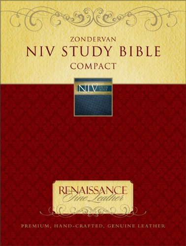 9780310939597: Zondervan NIV Study Bible, Compact: Updated Edition