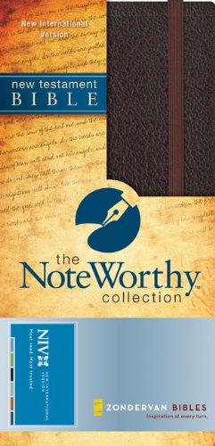 NIV New Testament (The NoteWorthy Collection): Zondervan