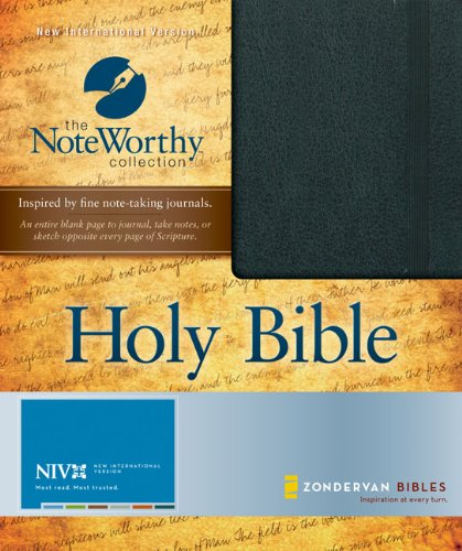 NIV Bible (The NoteWorthy Collection): Zondervan