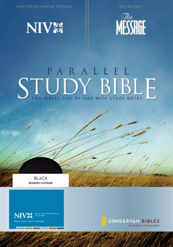 9780310939740: NIV and The Message Parallel Study Bible: Updated Numbered Edition