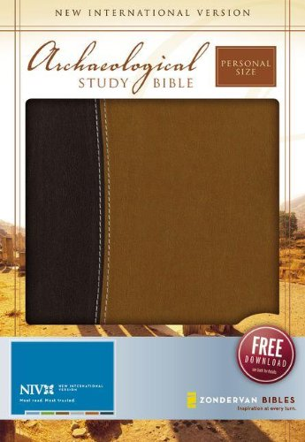 NIV Archaeological Study Bible, Personal Size: An Illustrated Walk