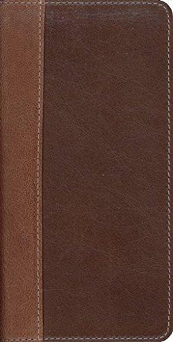 9780310940708: NIV Trimline Bible, Renaissance Fine Leather, Sienna / Espresso