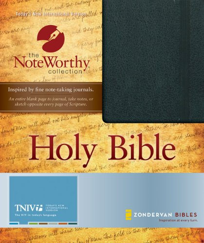9780310940715: TNIV Bible (NoteWorthy Collection, The)