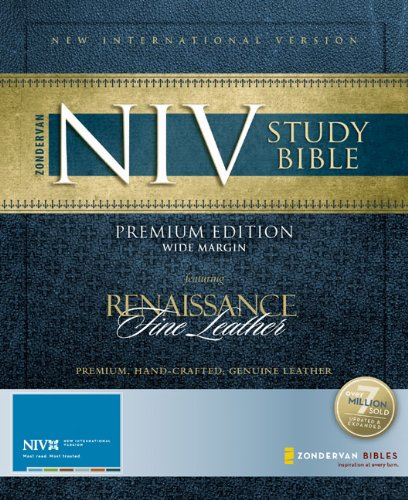 9780310940791: Zondervan NIV Study Bible, Premium Edition