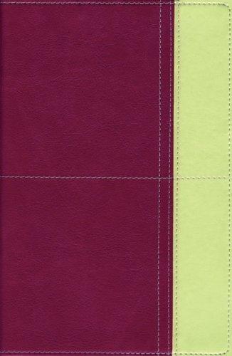9780310940876: Zondervan TNIV Study Bible, Personal Size, Italian Duo-Tone™, Razzleberry/Melon Green, Imitation Leather