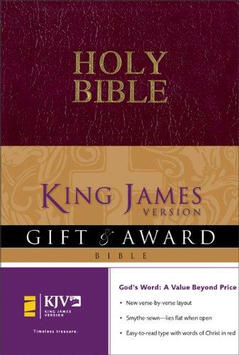 9780310941392: KJV Gift & Award Bible, Revised