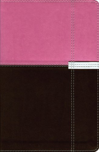 9780310941460: NIV Life Application Study Bible, Personal Size, Italian Duo-Tone, Orchid/Chocolate 1984
