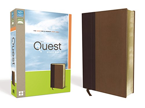 9780310941507: NIV, Quest Study Bible, Imitation Leather, Burgundy/Tan: The Question and Answer Bible